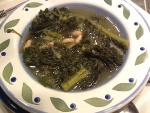 bowl of minestra