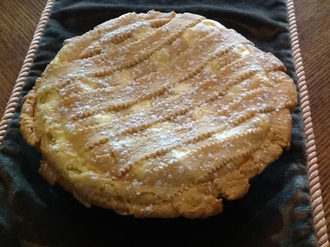 Easter Sweet Ricotta Pie | My Kitchen Memories