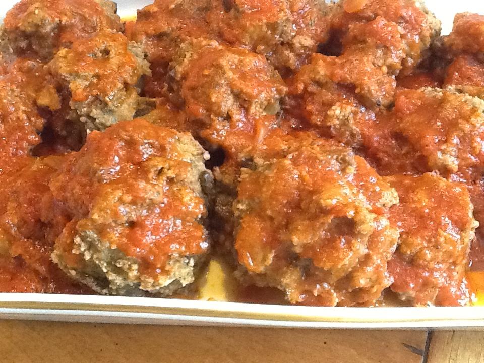 Eggplant Meatballs Meatless My Kitchen Memories
