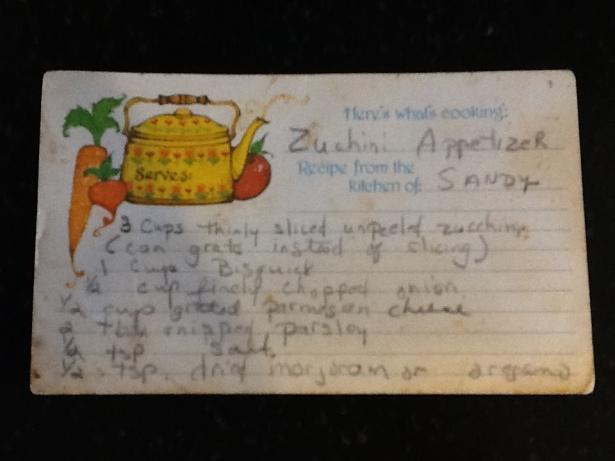 zucchini appetizer recipe
