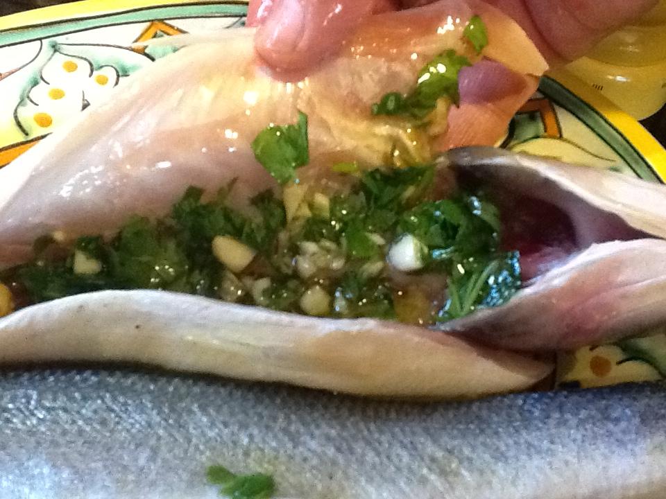 Grilled branzino my kitchen memories for Branzino fish recipes