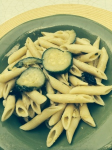 Mamma A pasta with zucchini plated2