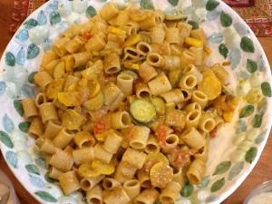 poolside pasta bowl