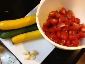 poolside pasta ingredients