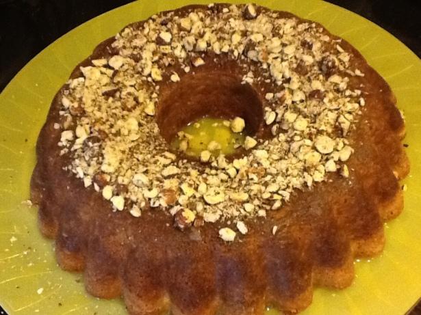 lemon cake dish **