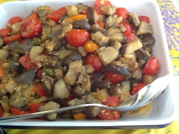 pizza eggplant:tomatoes