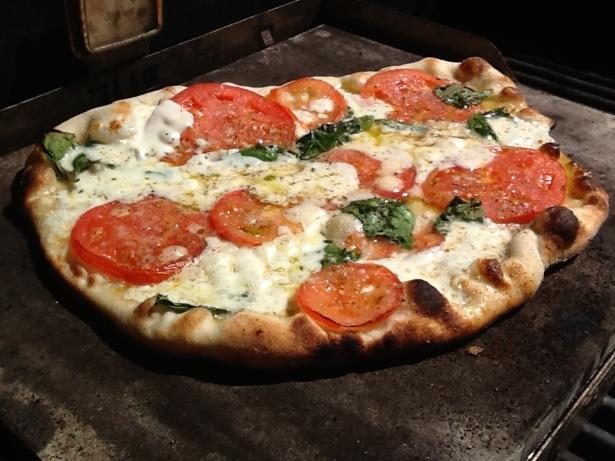 pizza magarita:grill1