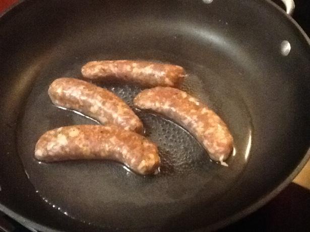 orecchiette sausage