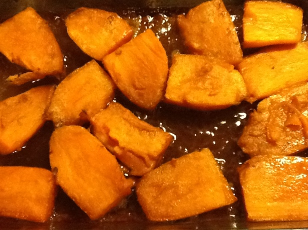 yams cooked