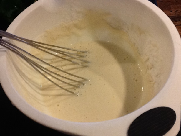 clams flour mixture