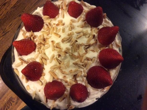 trifle finished