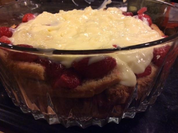 trifle layered
