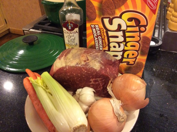 ginger pot roast ingredients