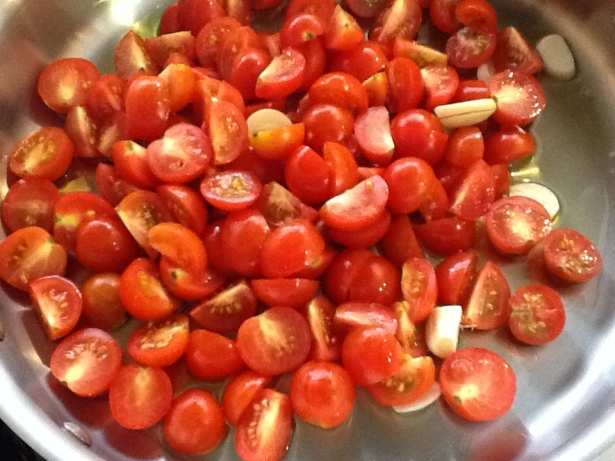 poolside pasta tomatoes