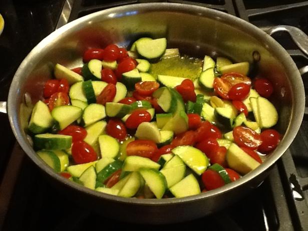 spaghetti squash tomato:zuchini1