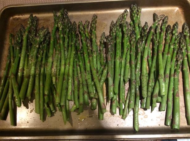 asparagus pan