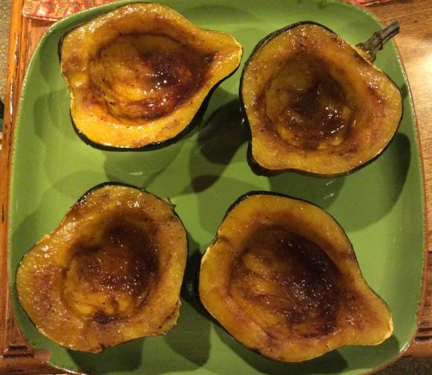 acorn squash plated*