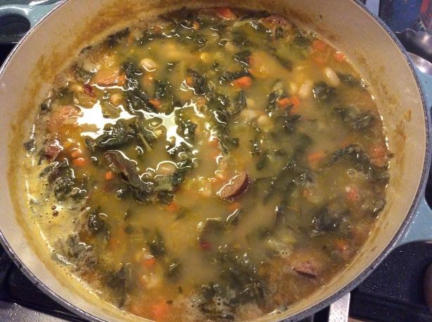 chard soup 1