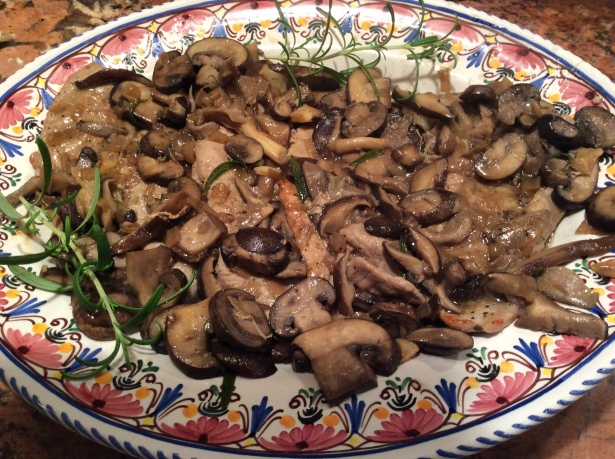 veal marsala plated