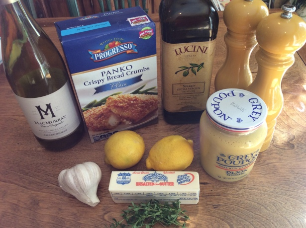mustard chicken ingredients