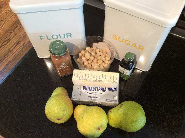 pear tart ingredients