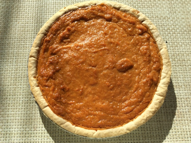 sweet potato pie baked
