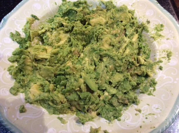 mousse avocado mash