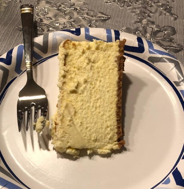 cheesecake plated *?