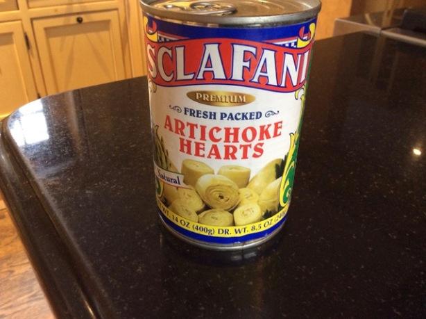 fried artichokes can