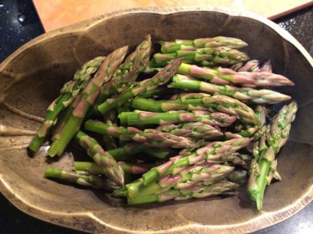primavera asparagus tips