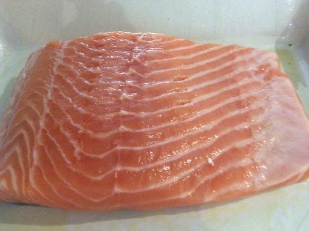 Bev's salmon salmon