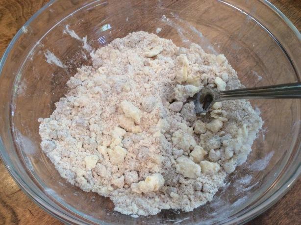blueberry pie crumble
