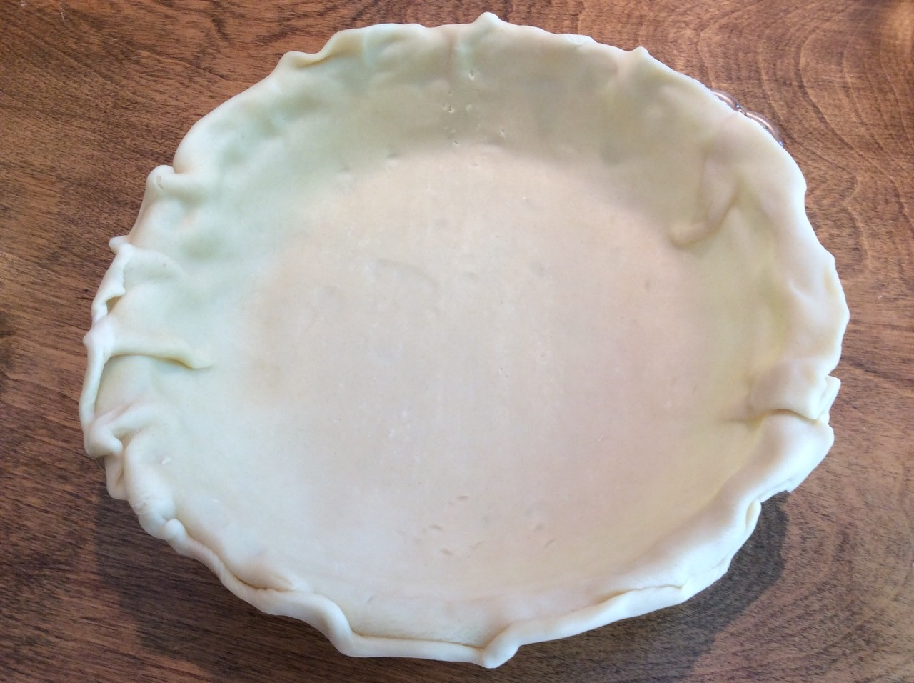 blueberry pie crust